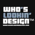Whos Lookin Design Logo