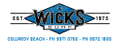 Wicks Surf Logo