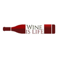 Wine Is Life Store Logo