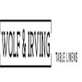 Wolf & Irving Logo