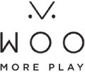 WOO MORE PLAY Logo