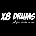 X8 Drums Logo