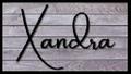 XANDRA logo