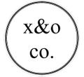 x&o co. Handmade Logo